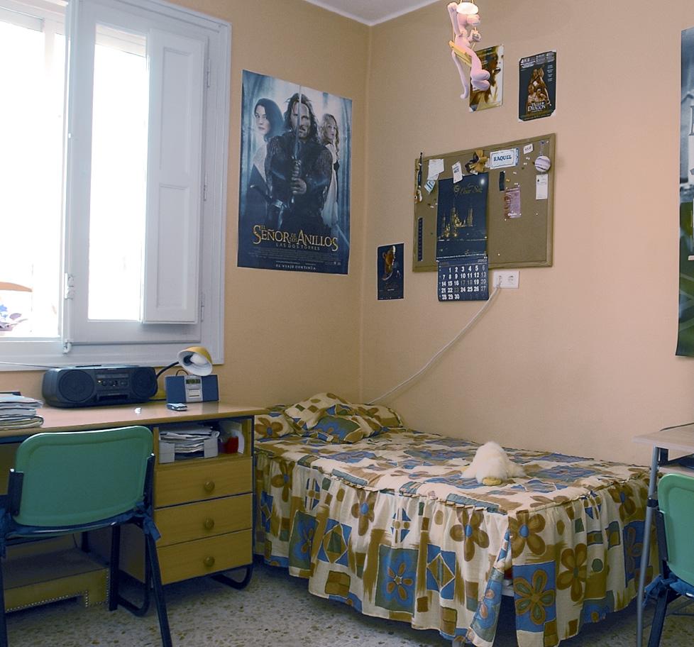 Habitación de estudiante