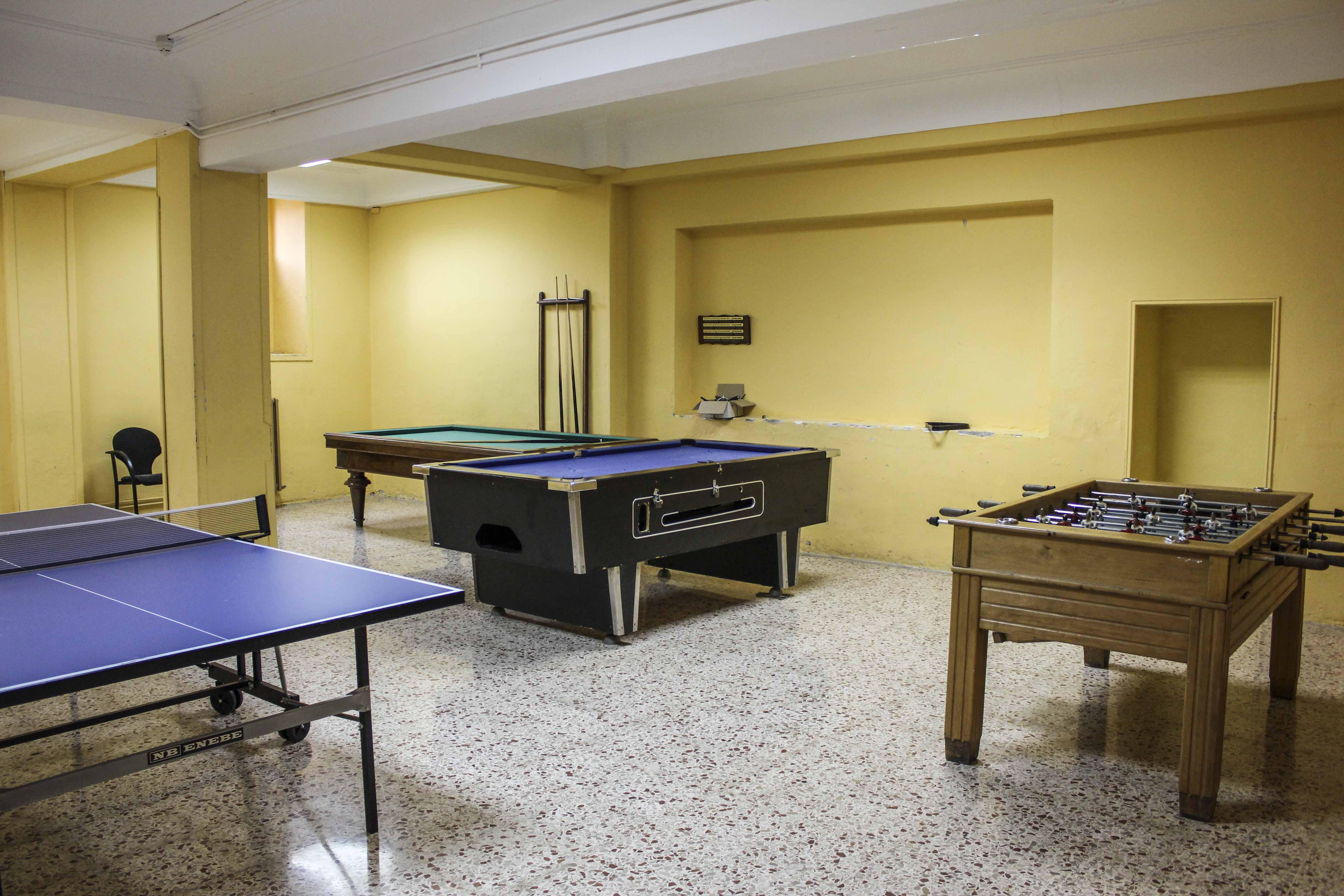 Sala de Billar y Ping-Pong